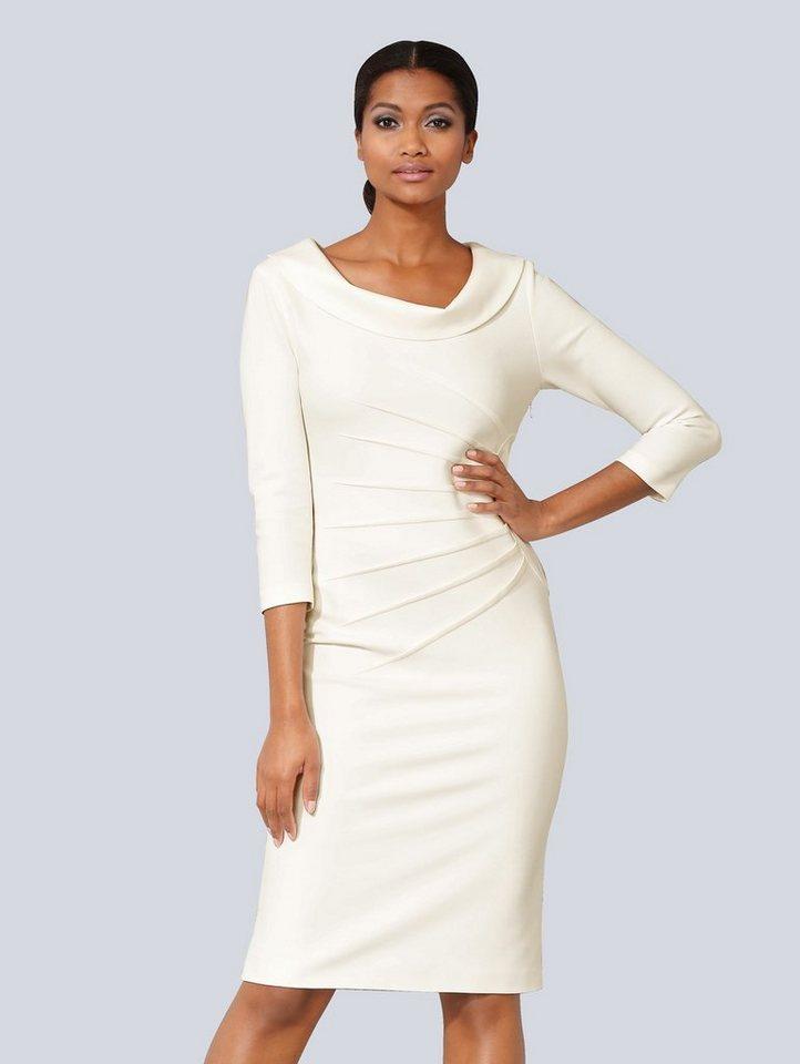 Festtagsmode - Alba Moda Kleid in figurbetonter Form › weiß  - Onlineshop OTTO