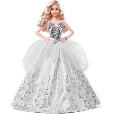 Mattel® Anziehpuppe »Barbie Signature Holiday Doll Wavy Blonde Barbie«