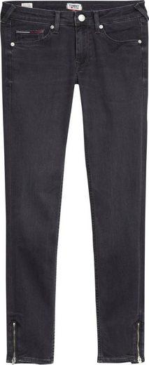 TOMMY JEANS Skinny-fit-Jeans »SOPHIE LR SKNY ANKLE ZIP BRBK« mit Reißverschlüssen am Beinabschluss