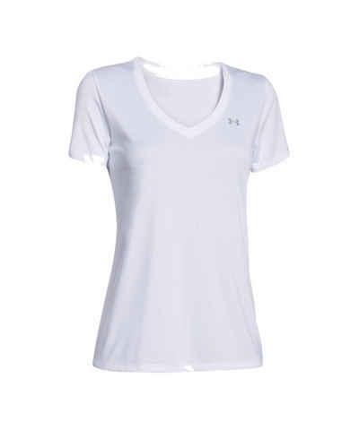 Under Armour® Laufshirt »Tech V-Neck T-Shirt Damen«