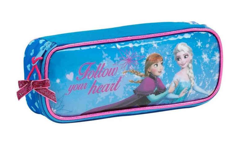 Disney Frozen Federmäppchen »Disney´s Die Eiskönigin - Federmäppchen, ungefüllt«, (1-tlg., Mädchen), Reißverschluss