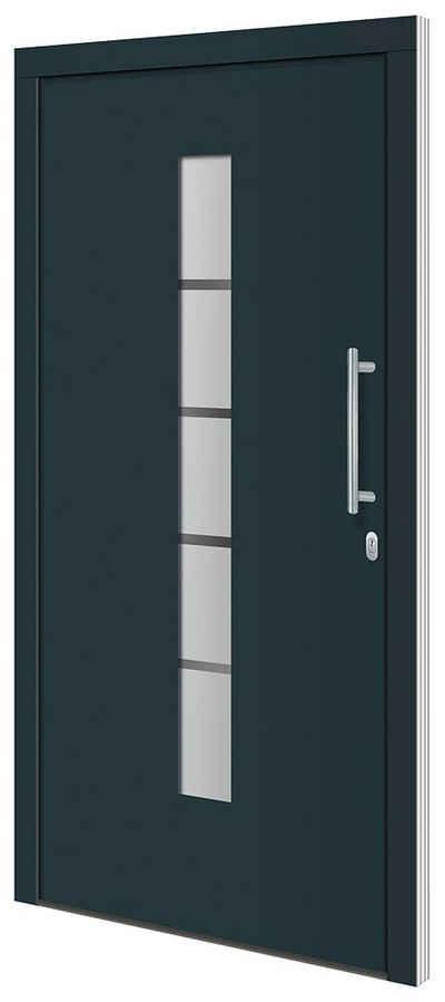 RORO Türen & Fenster Haustür »Otto 2«, BxH: 100x210 cm, anthrazit/weiß, ohne Griff