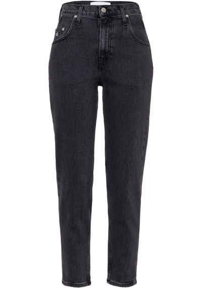 Calvin Klein Jeans 5-Pocket-Jeans »MOM JEANS« mit Destroy-Elementen