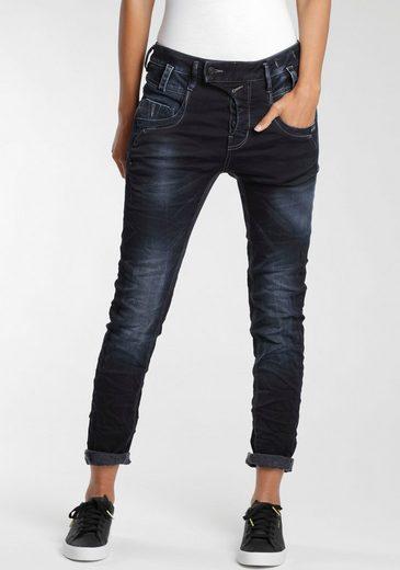 GANG 5-Pocket-Jeans »Marge« mit außergewöhnlicher halb verdeckter Knopfleiste