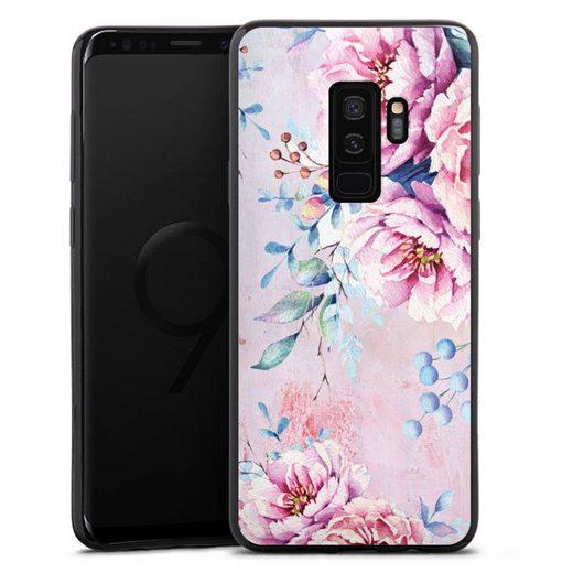 DeinDesign Handyhülle »Watercolour Flower 3« Samsung Galaxy S9 Plus, Hülle Blume Wasserfarbe Sommer