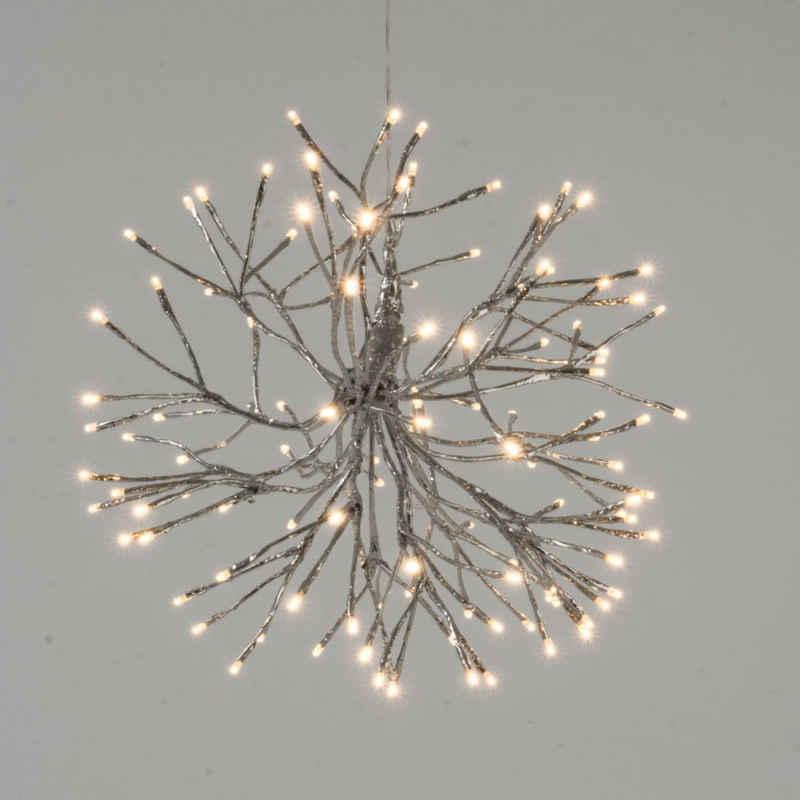 LED Dekolicht »Schneeflocke«, mit LED Beleuchtung und biegsamen Streben