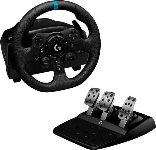 Logitech G »G923 für PS4 und PC« Gaming-Lenkrad