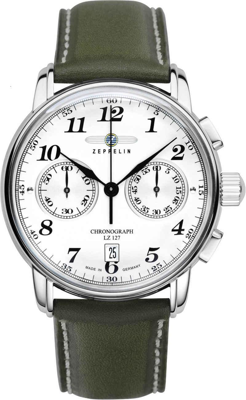 ZEPPELIN Chronograph »LZ127 Graf Zeppelin, 7678-1O«, Exklusiv Artikel