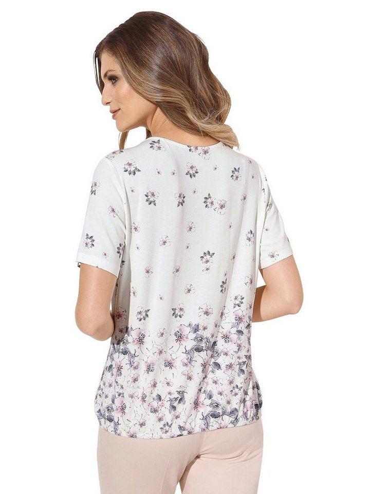 lady shirt mit gummizug im saum, vorteilhaft geschnittenes shirt online kaufen otto  alessa w shirt mit glitzerbandern damen bekleidung ojxzxqlsv #3