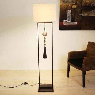 Holländer Stehlampe »Finestra Eisen Braun-Schwarz«