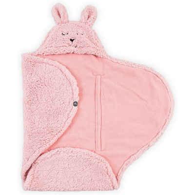 Einschlagdecke »Einschlagdecke Bunny, pink«, Jollein