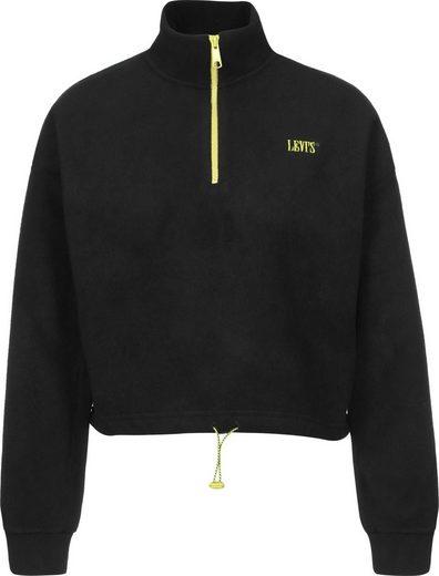 Levi's® Fleecepullover »Trekker Quarter Zip«