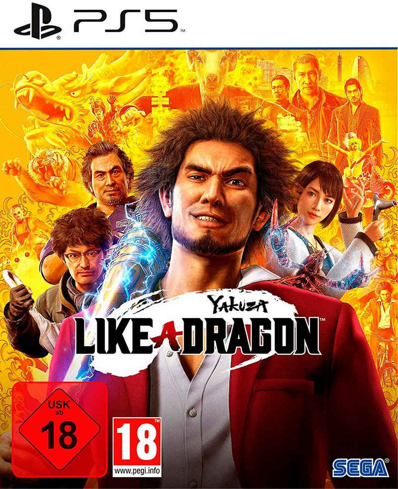 Yakuza 7: Like a Dragon PlayStation 5