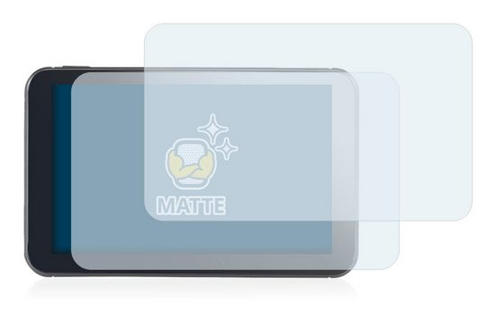 BROTECT Schutzfolie »für NavGear StreetMate N6«, (2 Stück), Folie Schutzfolie matt entspiegelt