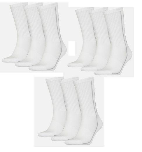 Head Freizeitsocken »Head Sportsocken Performance Socken unisex 9er Pack« (9 Paar) Polsterung im Fußbereich