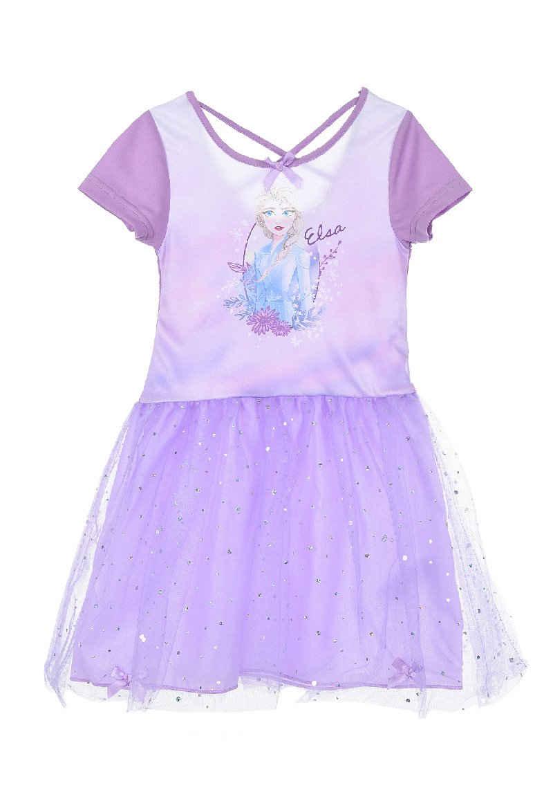 Disney Frozen Tüllkleid »Eiskönigin Elsa Mädchen Sommer-Kleid«
