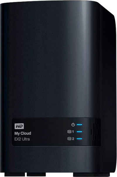 WD My Cloud EX2 Ultra 6TB NAS-Server