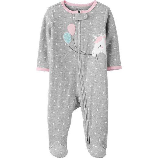 Carter`s Baby Schlafanzug mit Füßen für Mädchen