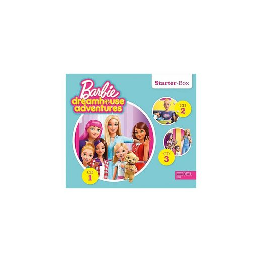 Edel Hörspiel »Barbie Dreamhouse Adventures Starter Box (F1-3)«