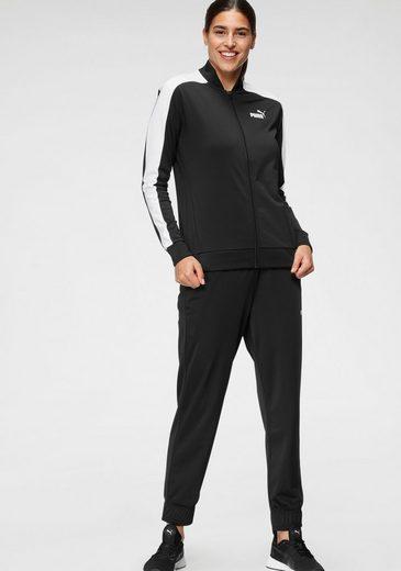 PUMA Trainingsanzug »Baseball Tricot Suit cl« (Set, 2-tlg)