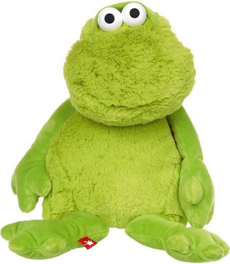 Sigikid Kuscheltier »Frosch Sweety, 32 cm«, mit verstellbarer Mimikfalte