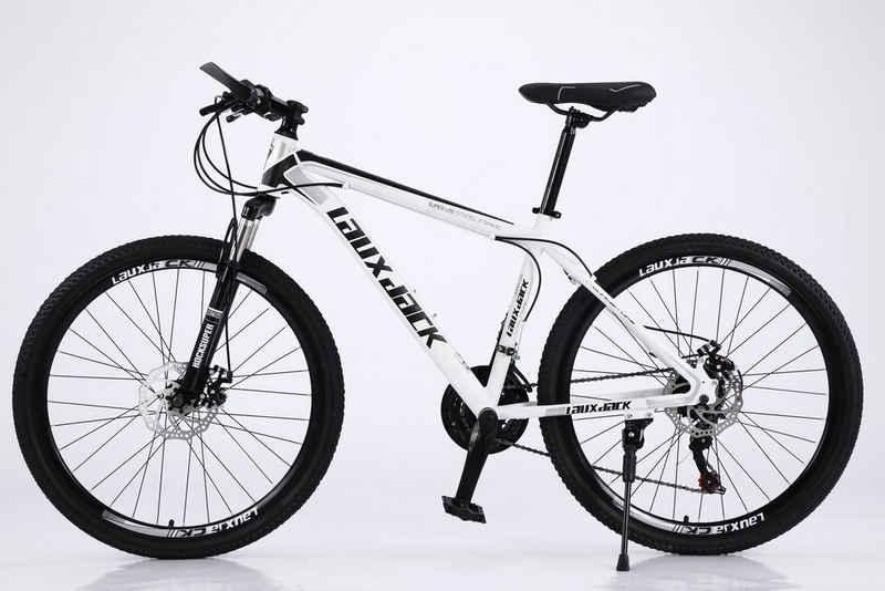 Lauxjack Mountainbike »28 Zoll Mountainbike MTB, Shimano, Scheibenbremse, 21 Gang, Kettenschaltung«, 21 Gang, Kettenschaltung
