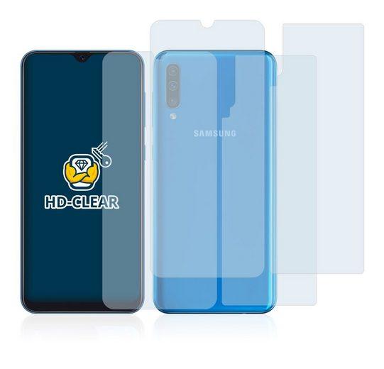 BROTECT Schutzfolie »für Samsung Galaxy A50 (Vorder + Rückseite)«, (2 Stück), Folie Schutzfolie klar