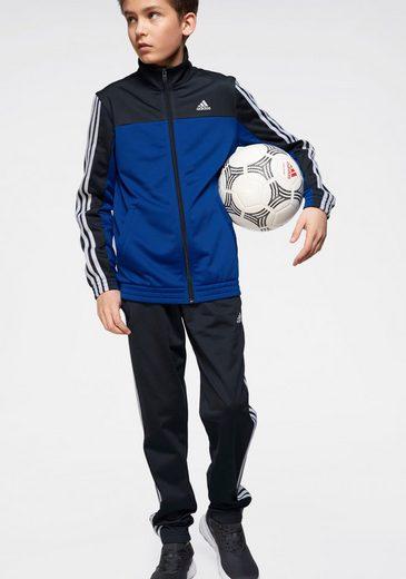 adidas Performance Trainingsanzug »YOUTH BOYS 3 STRIPES TRACKSUIt« (Set, 2-tlg)
