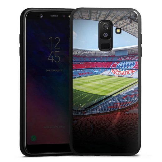 DeinDesign Handyhülle »Stadion FC Bayern - Color« Samsung Galaxy A6 Plus Duos (2018), Hülle Stadion FCB FC Bayern München