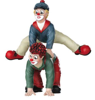 Gildeclowns Sammelfigur »Clown Dekofigur, Der Bocksprung« (1 Stück), handbemalt, Wohnzimmer