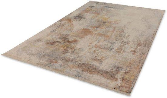 Teppich »Mystik 199«, SCHÖNER WOHNEN-Kollektion, rechteckig, Höhe 7 mm, weiche Oberfläche, Wohnzimmer