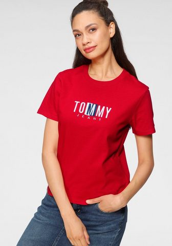 Tommy Jeans Tommy Džinsai Palaidinė apvalia iškirp...