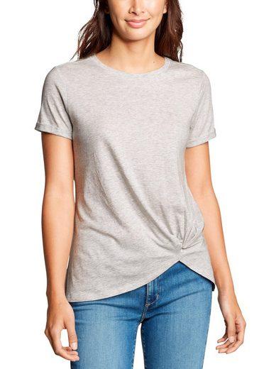 Eddie Bauer T-Shirt Gatecheck Twist Front - Kurzarm