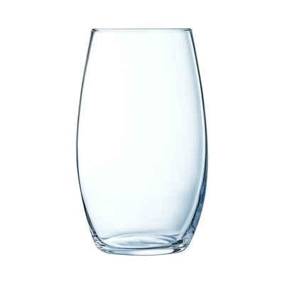 Chef & Sommelier Tumbler-Glas »Primary«, Krysta Kristallglas, Trinkglas Wasserglas Saftglas 400ml Krysta Kristallglas transparent 6 Stück