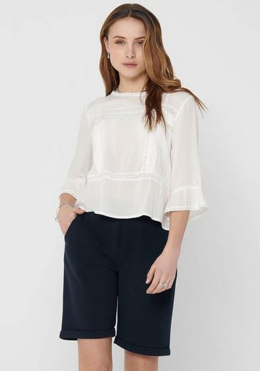Only Spitzenbluse »ONLANEMONE 3/4 FLAIRED TOP«