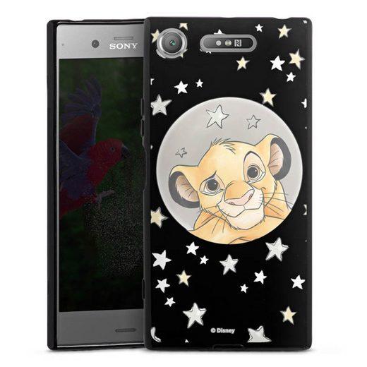 DeinDesign Handyhülle »Simba ohne Hintergrund« Sony Xperia XZ 1, Hülle Löwe Disney Offizielles Lizenzprodukt