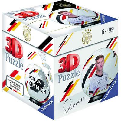 Ravensburger 3D-Puzzle »Puzzle-Ball DFB Spieler Joshua Kimmich EM20, 54«, Puzzleteile