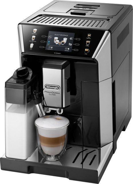 Delonghi De Longhi Kaffeevollautomat PrimaDonna Class ECAM 550.65.SB, schwarz