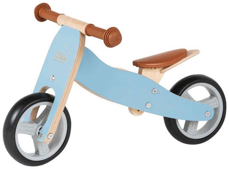 Pinolino® Laufrad »Charlie«, für Kinder ab 18 Monate, blau-natur