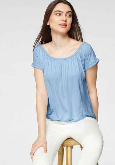 soyaconcept Kurzarmshirt »SC-MARICA4« in frischen Farben