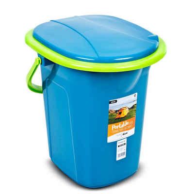 GreenBlue Campingtoilette »GB320«, mit Tragegriff / Toilettenpapierhalter und Auskipp-Hilfe