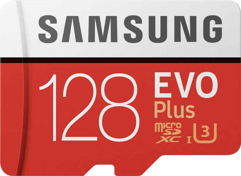 Samsung »EVO Plus 2020 microSD« Speicherkarte (128 GB, UHS Class 10, 100 MB/s Lesegeschwindigkeit)