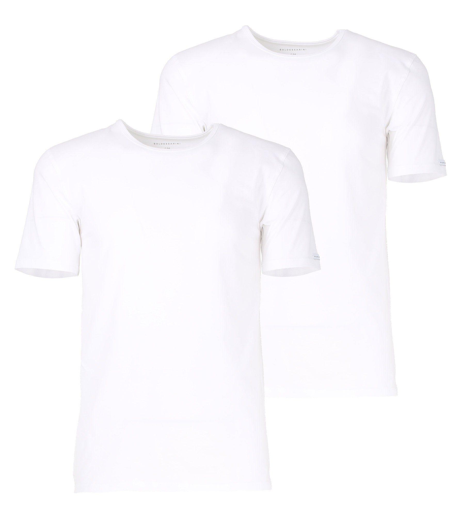 Top Vohukila-Look Paillettenbesatz Shirt Partyshirt Damen Weiß Aniston Rundhals
