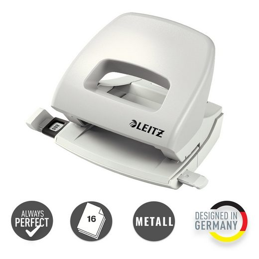 LEITZ Lochstanzer »NeXXt Bürolocher für 16 Blatt«, Locher für A4, A5, A6
