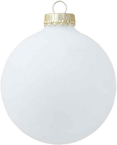 Krebs Glas Lauscha Weihnachtsbaumkugel »CBK78801« (4 Stück)