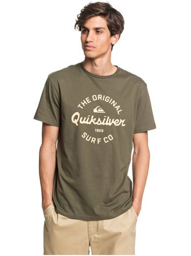 Quiksilver T-Shirt »Eye On The Storm«