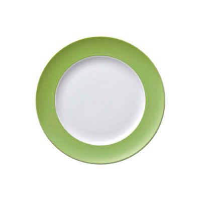 Thomas Porzellan Frühstücksteller »Sunny Day Apple Green Frühstücksteller 22 cm«, (1 Stück)