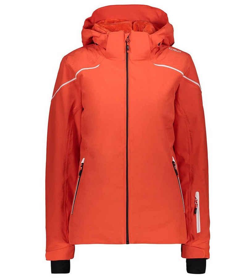 CAMPAGNOLO Kapuzensweatjacke »Campagnolo Zip Hood Jacke Ski-Jacke warme Damen Winter-Jacke Schnee-Jacke Orange«
