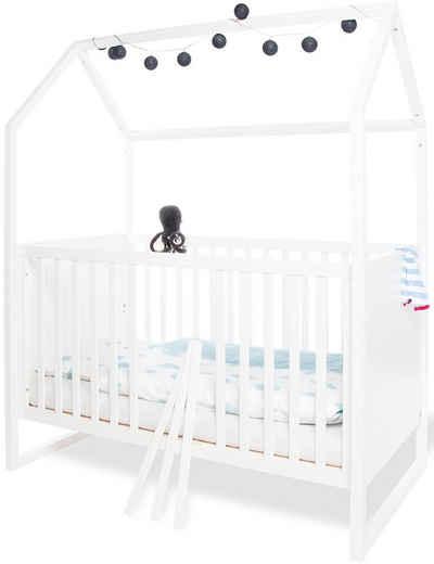 Pinolino® Babybett »Hausbett Hilda«, Made in Europe
