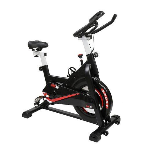 FCH Speedbike »Fahrradtrainer, Heimtrainer Fahrrad«, Indoor Cycling Fitness Fahrrad Trimmrad mit LCD-Konsole